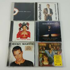 Elton John, Janet Jackson, Carole King, Susan Boyle, Etc. Pop Music 6 CD Lot