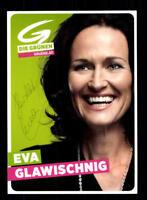 Eva Glawischnig Autogrammkarte Original Signiert ## BC 118062