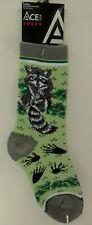 Ladies Racoon Novelty Socks (#SK533)