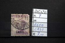 FRANCOBOLLI COLONIE EGEO CASO USATI N. 7 (A15491)
