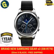 SAMSUNG Galaxy Gear S3 CLASSIC ARGENTO Smartwatch SM-R770 Orologio Wi-Fi Bluetooth
