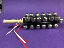 'Duplex' Sleigh Bells(hand held'/ New