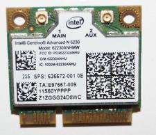Intel 62230ANHMW 802.11n 6230 WiFi PCI-E card 636672-001 HP IBM Lenovo 60YPPPP