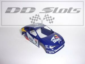 DD Slots Scalextric Renault Megane Diac No.7 C2094 Body Shell - Used - S2314