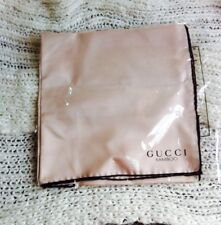 Gucci Bamboo print silk pink scarf new 100% Authentic x Ideal xmas gift RRP £125