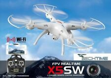 DRONE SYMA X5SW FPV HEADLESS CAMERA HD REAL TIME WiFi BATTERIA QUADRICOTTERO