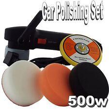 Deltalyo 500w Electric Polisher Sander Buffer Car Polishing Foam Pads