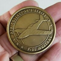 Air Force Association P 51 Mustang Coin AFA Collectors Series