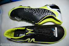 Mens Soccer Cleats MITRE Mirage BLACK Lime Green Accents Size 13
