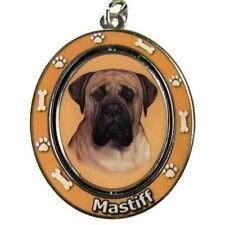Mastiff Dog Spinning Key Chain Fob