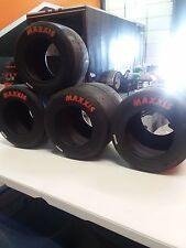Maxxis Go-Kart Racing Tires FULL SET OF EL's