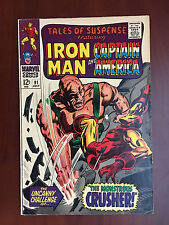 Marvel TALES OF SUSPENSE (1967) #91 IRON MAN CAPTAIN AMERICA - Crusher