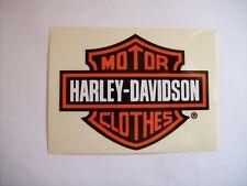 ADESIVO STICKER MOTOR HARLEY DAVIDSON CLOTHES  ( m14-1 )