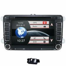 "For VW Golf MK5 MK6 Jetta 7"" Car Stereo Radio DVD Sat Nav DAB GPS Bluetooth +Cam"