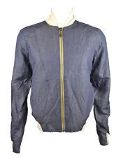 Eleven Paris Men's 'Harrington' Style Jacket Indigo (EPJK014)
