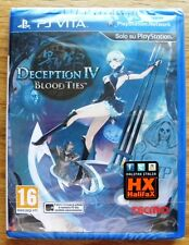DECEPTION IV BLOOD TIES PSVITA SONY NUOVO ITA