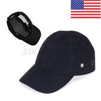 Black Baseball Bump Caps - Lightweight Safety hard hat head protection Caps USA