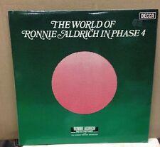 RONNIE ALDRICH The World Of  In Phase 4 1972 UK Vinyl LP EXCELLENT CONDITION