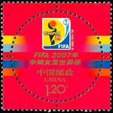 China 2007-26 FIFA China Girl World Cup Emblem MNH