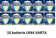 10 LR44 VARTA 1.5V ALKALINE V13GA 4276 alta qualità BATTERIE PILE magic cain