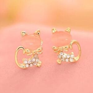 Women Jewelry Cubic Zircon Wedding Earrings Elegant 925 Silver Stud Earrings