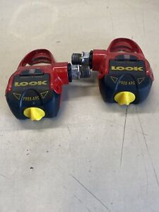 Vintage LOOK PP 396 FREE ARC Clipless Delta Cleat Road Bike Pedals