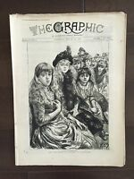 """THE GRAPHIC"" (A Beautifully Illustrated British Weekly Newspaper)-Mar. 30, 1889"