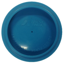 IWATA SPRAY GUN CUP LID BLUE NEW 2 LIDS (IWATA-94008321)
