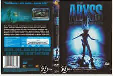 Dvd * The Abyss * 1989 20th Century Fox Video Issue Cult Adventure Drama Sci-Fi
