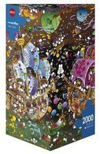 HY29699 - Heye Puzzles - The Kiss, Mordillo 2000 PIECE TRIANGULAR JIGSAW PUZZLE
