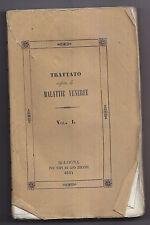 P833-MEDICINA-1844 GNOLI TRATTATO SULLE MALATTIE VENEREE