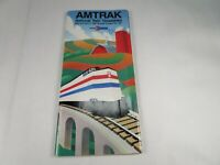 Vintage Original Amtrak National Tain Timetables 4-5-1987 through 10-24-1987