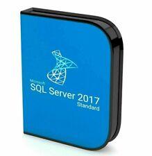 SQL Server 2017 Standard Product Key License Download INSTANT DELIVERY