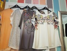 M&S Next H&M Gerry Weber Summer Top T-shirt Blouse Bundle Size 18