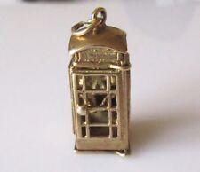Yellow Gold Charm/Charm Bracelet Vintage Fine Jewellery (1970s)
