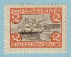 DANISH WEST INDIES 38  MINT NEVER HINGED OG ** NO FAULTS EXTRA FINE !
