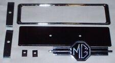 MG RADIO BLANKING PLATE KIT 7pc for MGA, MGB, MG MIDGET