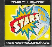 STARS ON 45 -The Clubhits - New '98 Recordings CD Album 6TR Holland 1998 BUNNY