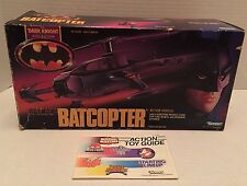 1990 Batman Dark Knight Batcopter by Kenner - EMPTY BOX & CATALOG/BAGS *ONLY*