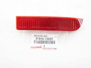 Genuine OEM Toyota Scion 81910-13022 Passenger Right Rear Bumper Reflector Trim