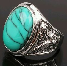 Butterfly Turquoise Costume Rings