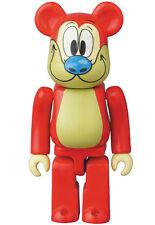 Medicom Bearbrick S34 Animal 34 Ren & Stimpy be@rbrick 100% Red Dog Nickelodeon