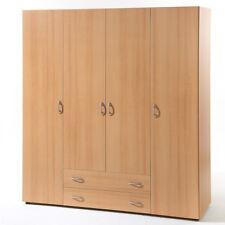 Kleiderschrank Base 4 Schlafzimmer 4-türiger Schrank in Buche 160 cm breit