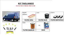 KIT TAGLIANDO FIAT SCUDO 1.9DIESEL 51KW 69HP 4 FILTRI+5L OLIO TOTAL QUARTZ 10W40