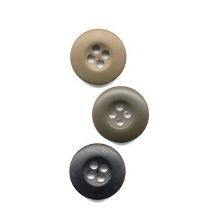 Rothco BDU Buttons - Choice of 3 Colors - Small and Large Quantities
