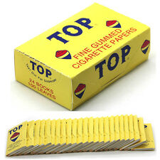 TOP ROLLING PAPER CIGARETTE ROLLING PAPERS BOX 24 COUNT