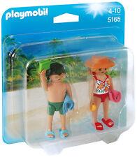 """PLAYMOBIL® 5165 """" Duo Pack Strandurlauber """", NEU & OVP"""