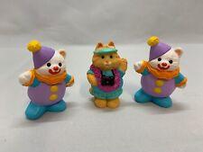 Hallmark Merry Miniatures Cameron Camera Tourist & 2 Happy Birthday Clowns 1995