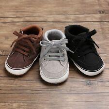 Newborns Baby Boys Cross-tied Walking Shoes Elastic Band Solid Patterns Footwear