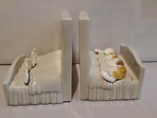"""One 1977 Fitz & Floyd Bob, Carol, Ted And Alice Bookend 6"""" Tall"""
